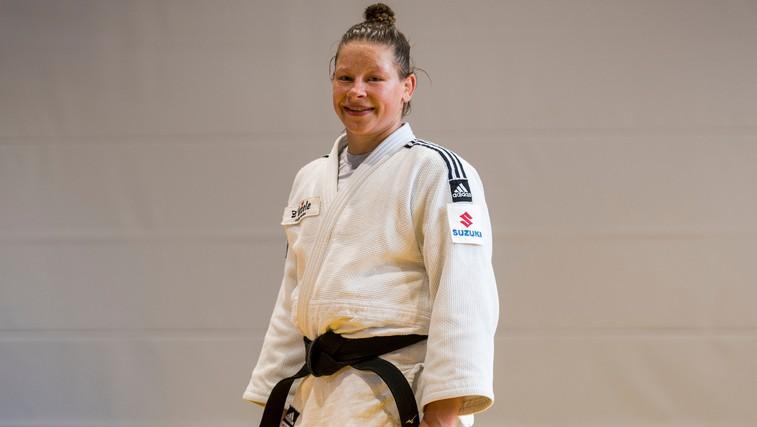 Imamo še srebrno medaljo! Judoistka Tina Trstenjak po zlatu v Riu, še srebrna v Tokiu (foto: profimedia)