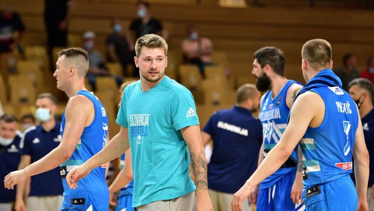 V torek bomo za košarkarje navijali ob 3. uri zjutraj. Luka ponosen, da zastopa Slovenijo! (foto: profimedia)