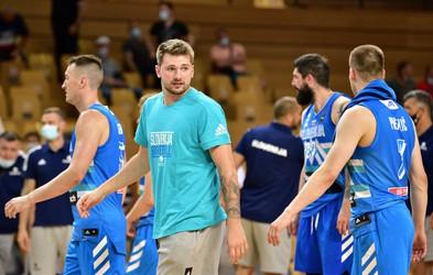 V torek bomo za košarkarje navijali ob 3. uri zjutraj. Luka ponosen, da zastopa Slovenijo!