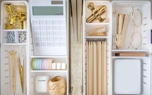 Tako hitro z nekaj triki pri organiziranju pisalne mize povečate svojo produktivnost!