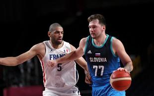 Slovenski košarkarji v soboto ob 13. uri v boj za olimpijski bron