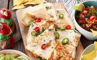 Hitro in preprosto kosilo ali večerja: Slastne quesadille z bučkami in s sirom