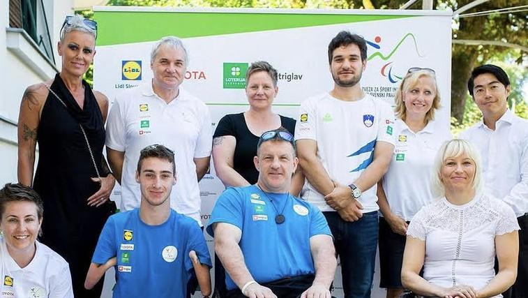 """Začenjajo se paraolimpijske igre v Tokiu! Slovenci pravijo: """"Vsi bomo šli tja zmagat!"""" (foto: Instagram)"""