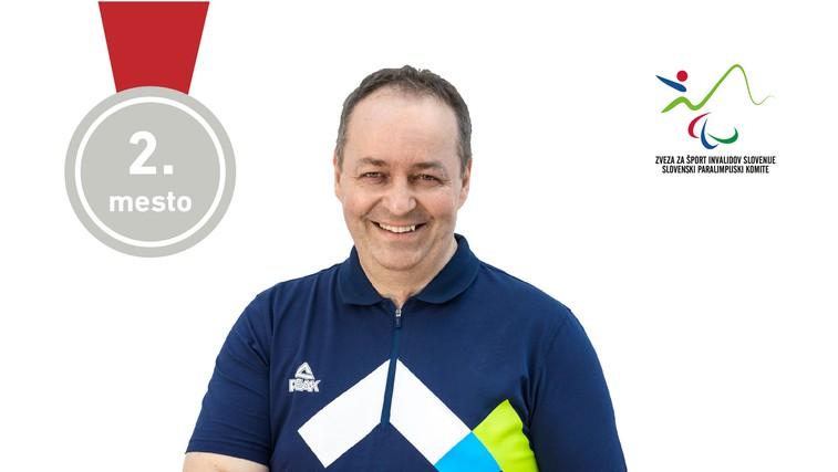 Prva medalja za Slovenijo na paraolimpijskih igrah: Gorazd Tiršek osvojil srebrno medaljo (foto: Arhiv)