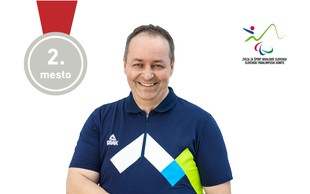 Prva medalja za Slovenijo na paraolimpijskih igrah: Gorazd Tiršek osvojil srebrno medaljo