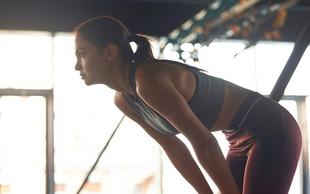 Vam je telovadba ušla izpod nadzora? Takšni so znaki prekomerne vadbe!