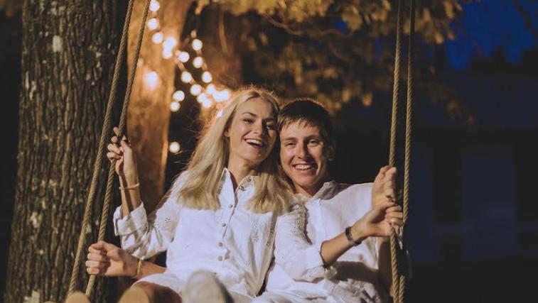 »Sanje so se uresničile, ko je rekla DA.«Tadej Pogačar in Urška Žigart sta zaročena! (foto: Instagram Tadej POgačar (@alenmilavec))