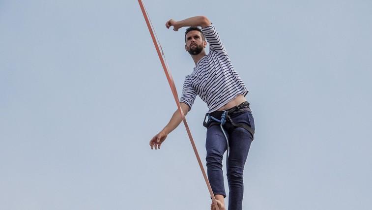 Bi se sprehodili čez Ljubljanico po vrvi? Nathan je užival nad pariško Seno! (foto: profimedia)