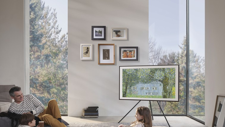 Vrhunska tehnologija in očarljiv dizajn: Spoznajte trojico veličastnih – Samsung The Frame, The Sero in The Serif (foto: Promocijski material)