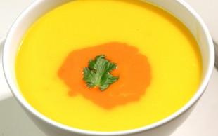 Recept: Jesenska korenčkova juha
