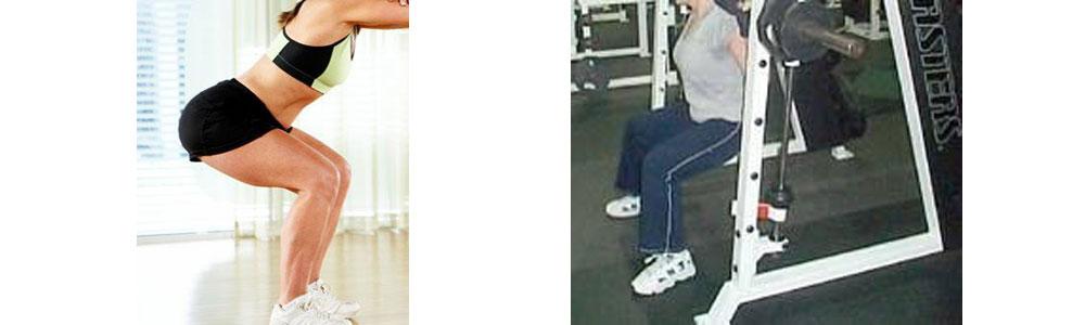 Fitnes vaja za stegna in zadnjico