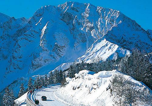 Berchtesgadener Land: Veličasten pogled na cesti Rossfeld-Höhenring