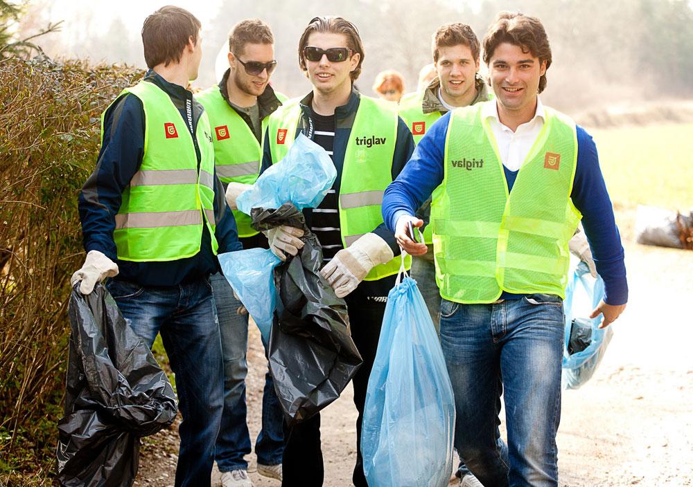 Zavarovalnica Triglav - Očistimo Slovenijo
