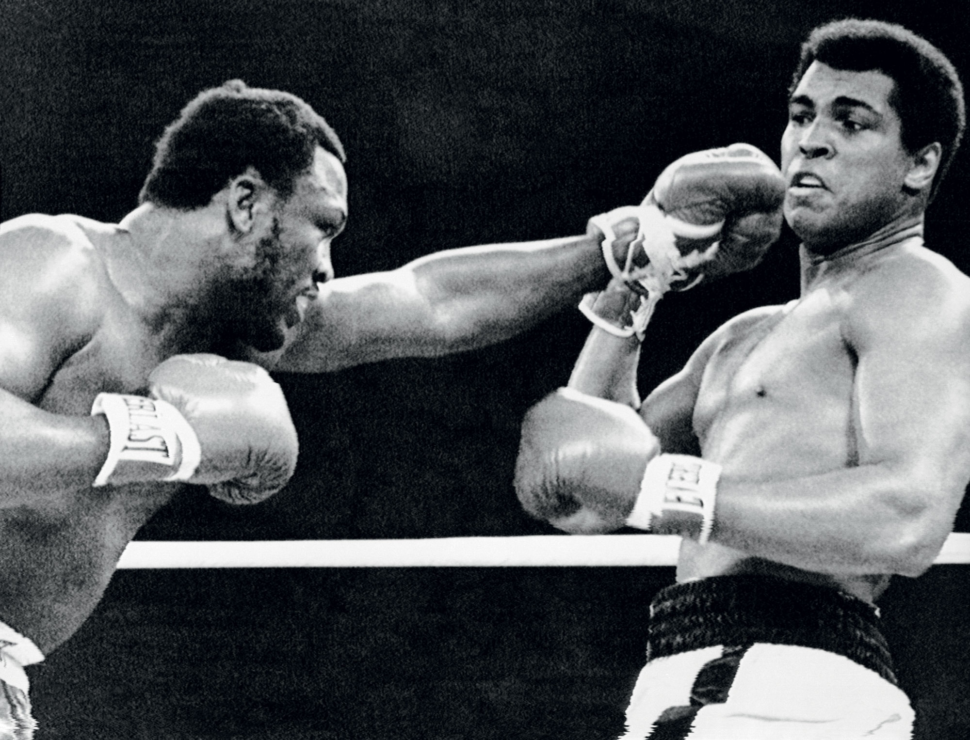 Muhammad Ali v boju s Fraizerjem