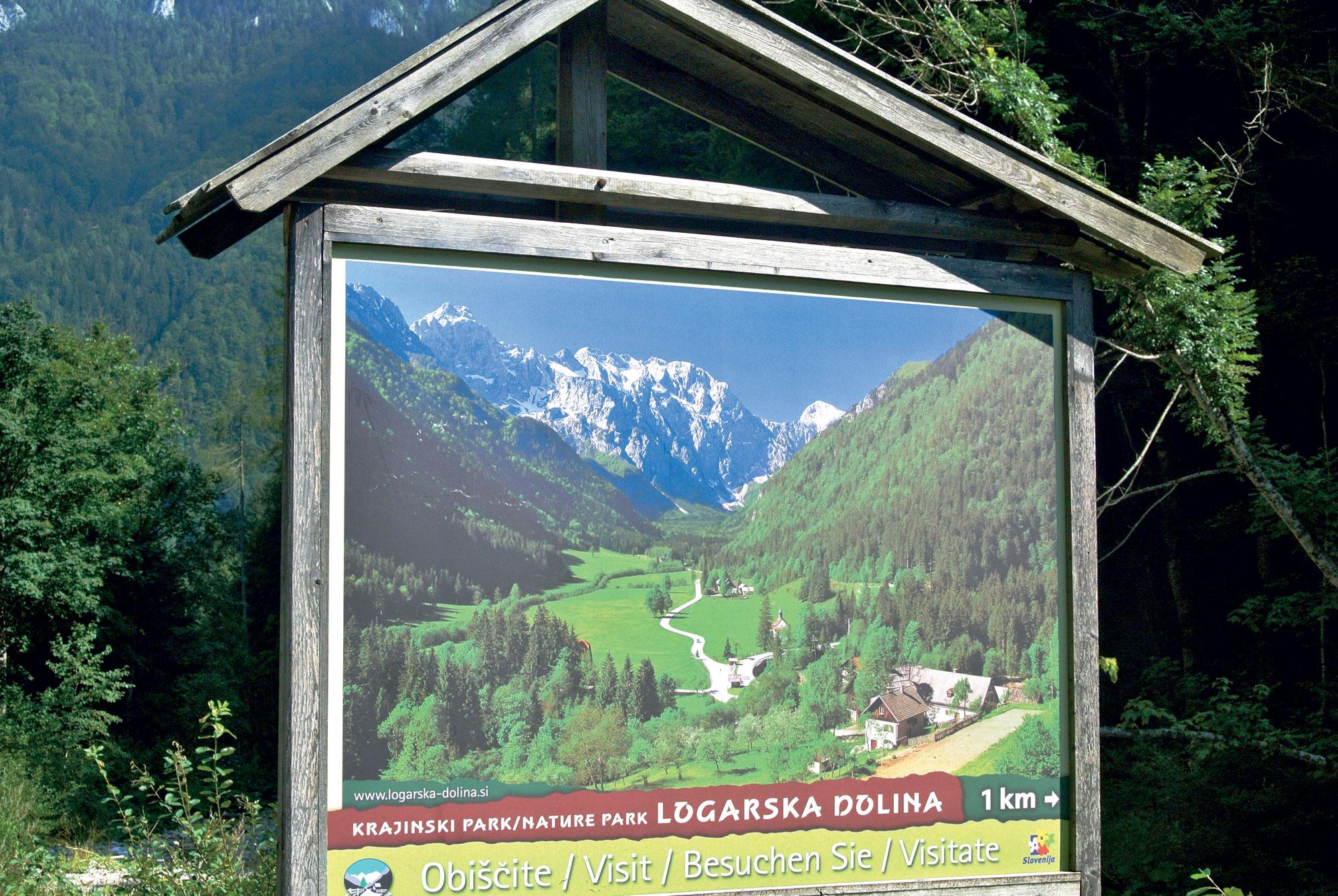 Logarska dolina - naraoslovna etnografska pot