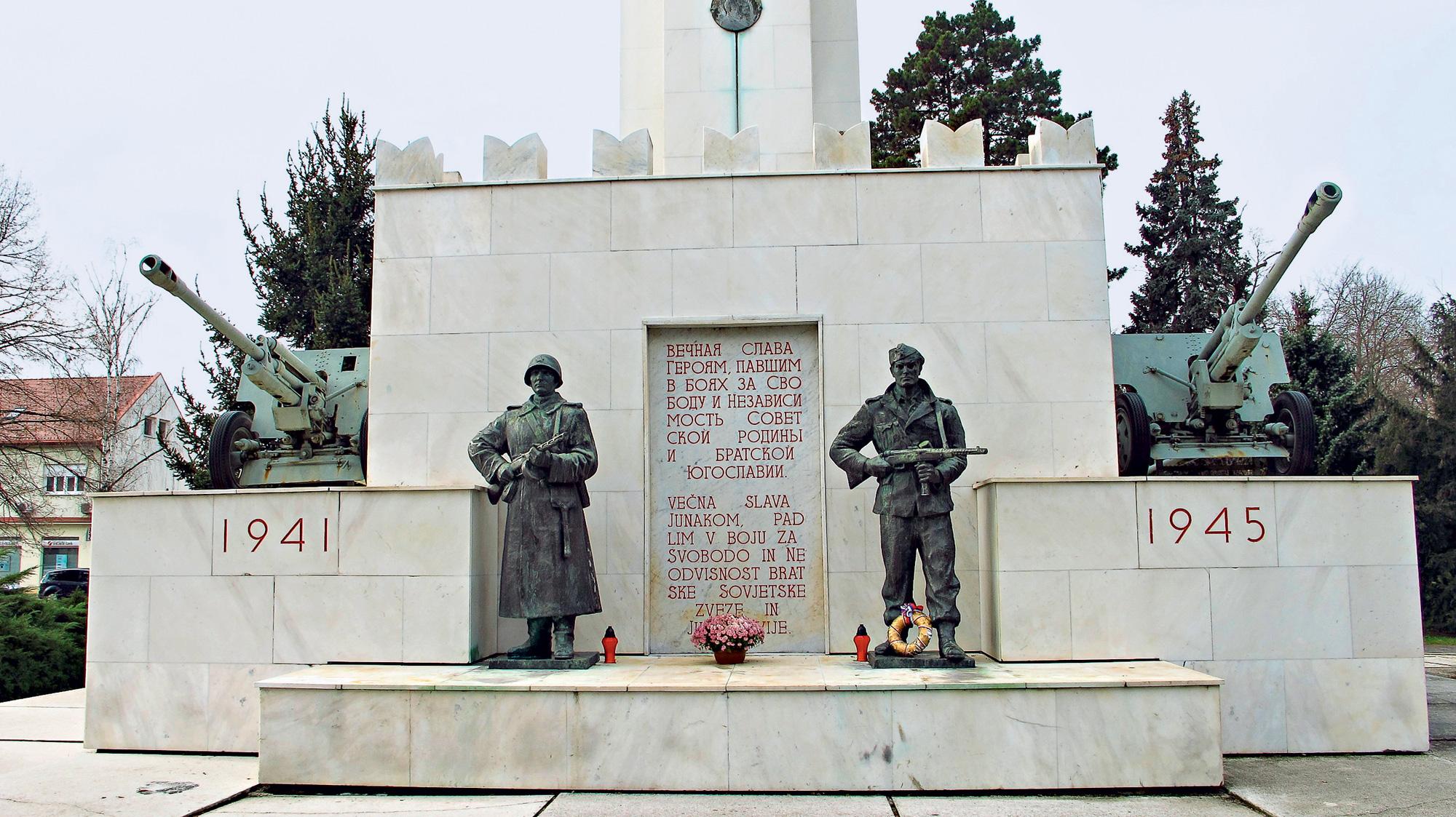 Murska Sobota - spomenik zmage