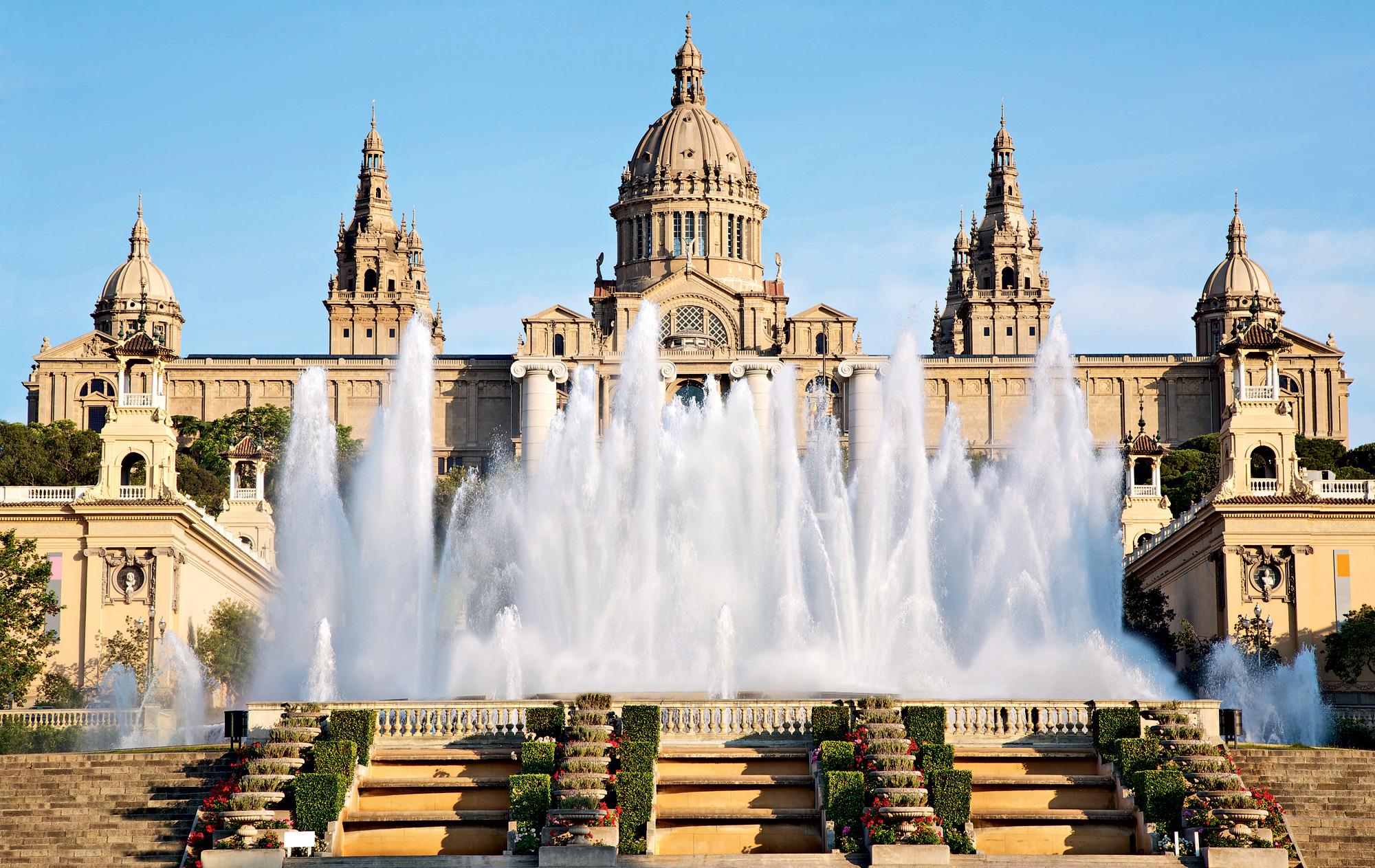 Font magica na Montjuic - Barcelona, Španija