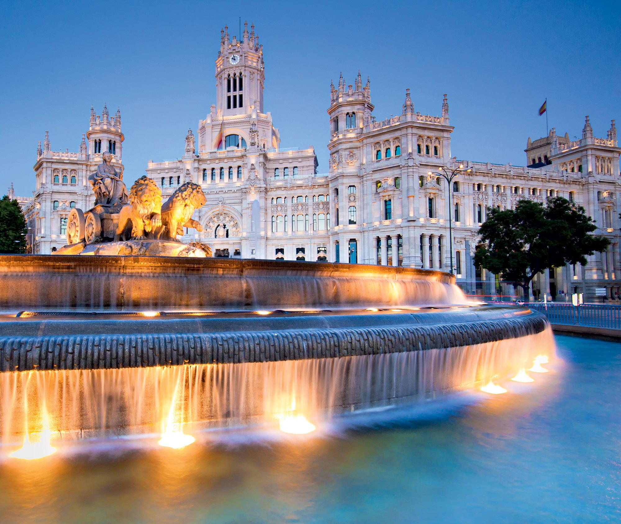 Fontana Cibeles na Plaza de Cibeles - Madrid, Španija