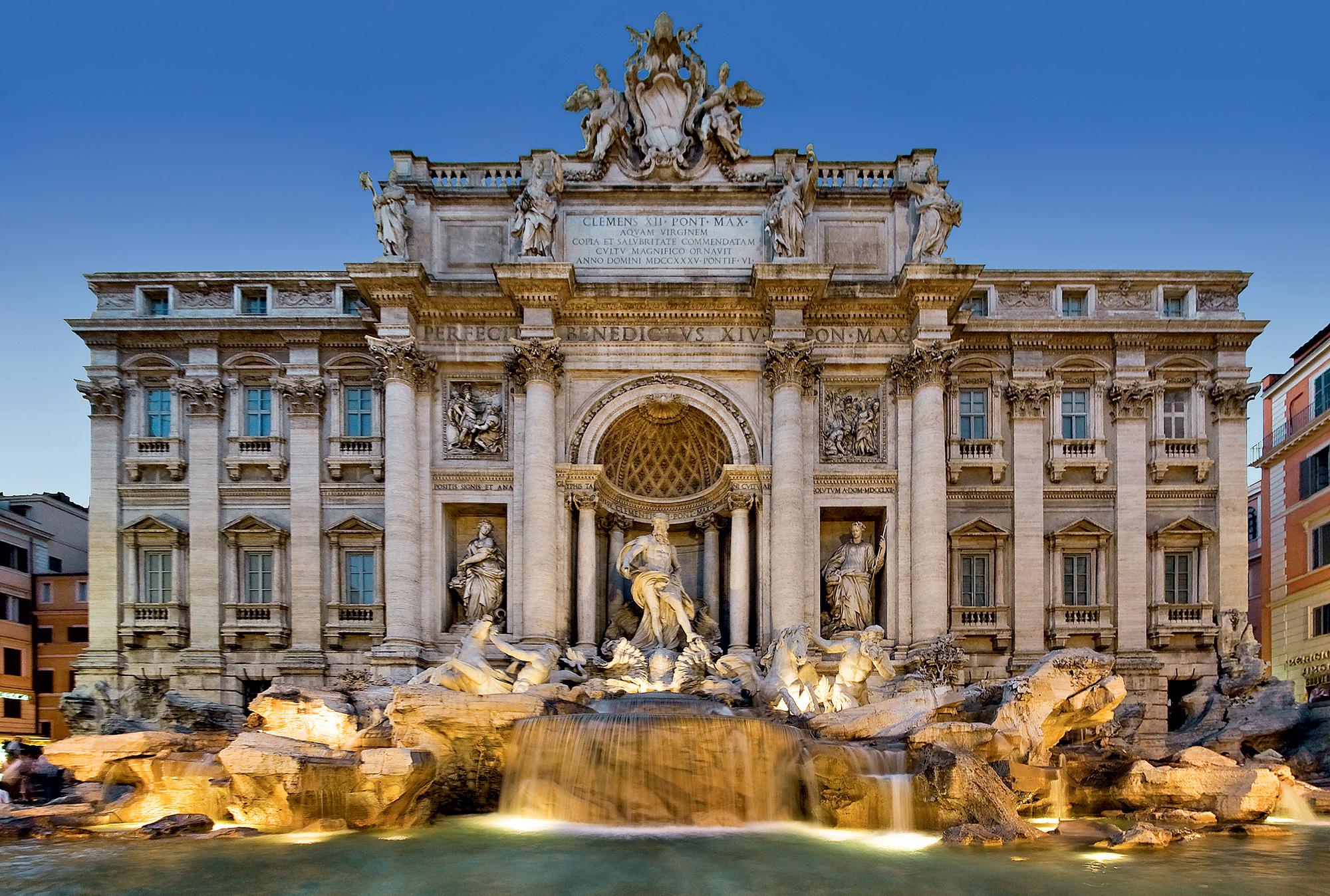 Fontana Di Trevi - Rim, Italija