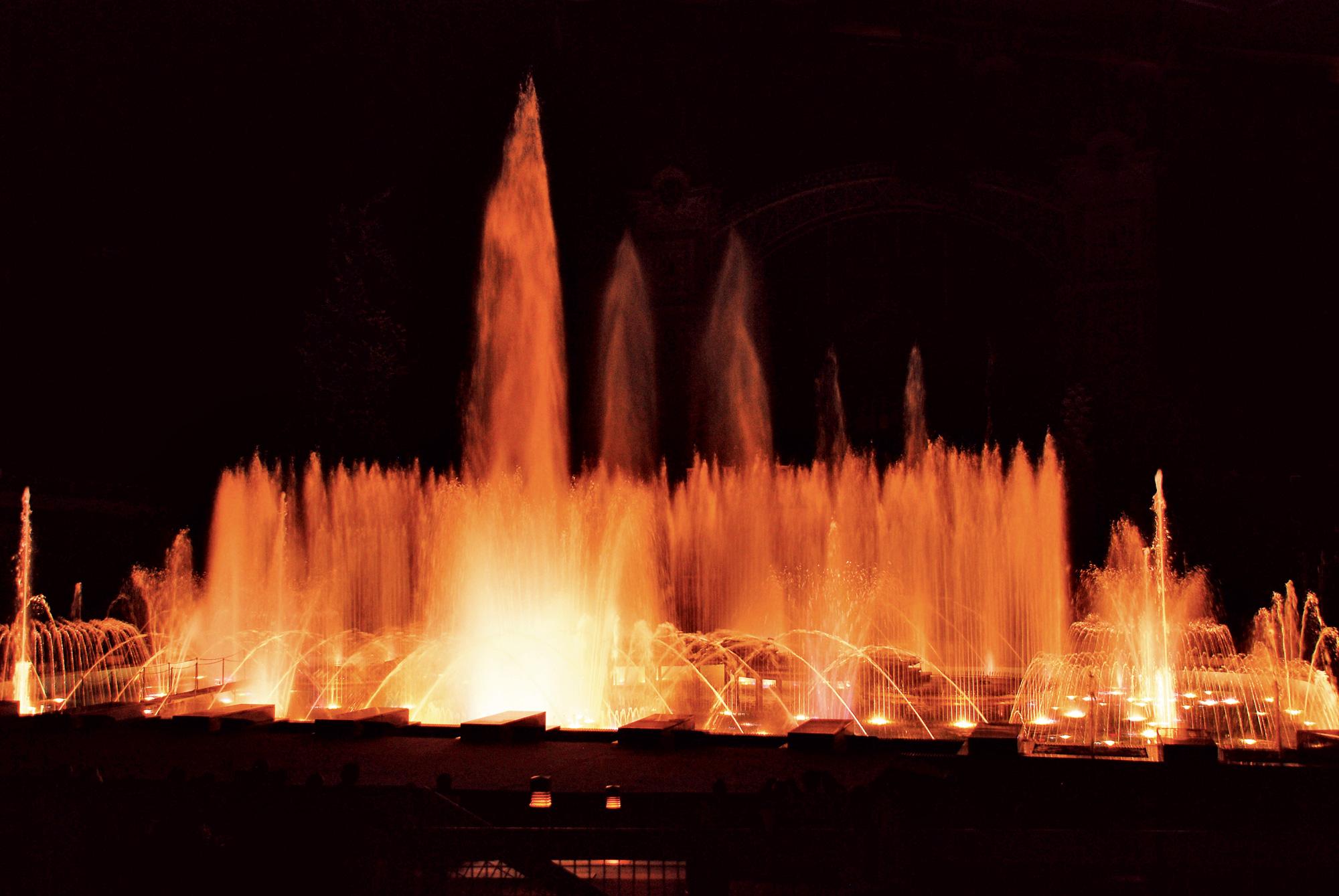 Krizikova fontana - Praga, Češka
