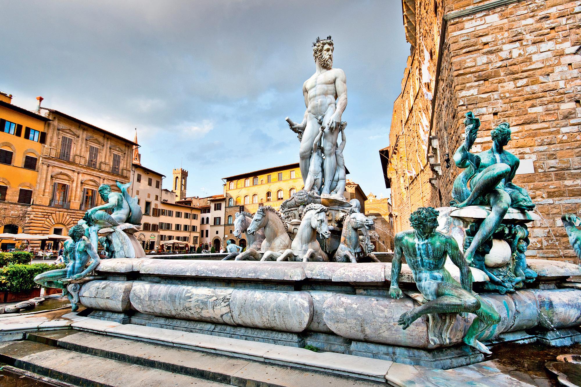 Neptunova fontana - Firence, Italija